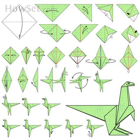 Origami Triceratops - origami of dinosaur 28 images origami brachiosaurus jo