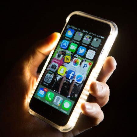 lumee iphone 6s plus / 6 plus selfie light case black