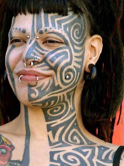 tribal tattoos and piercings tribal blown maori tribal