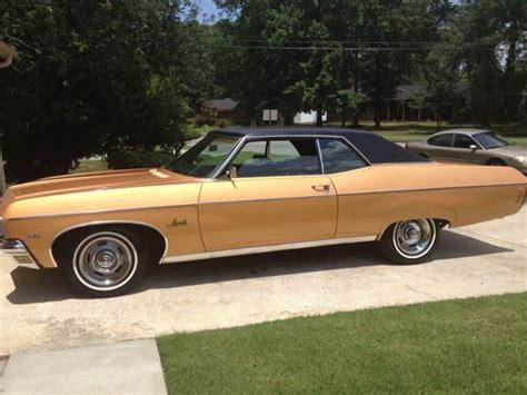 1970 2 door impala purchase used 1970 chevrolet impala base hardtop 2 door 5