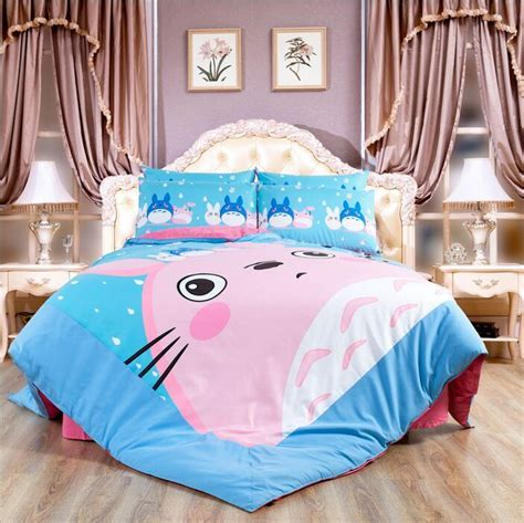 Totoro Comforter by Popular Totoro Bed Set Buy Cheap Totoro Bed Set Lots From