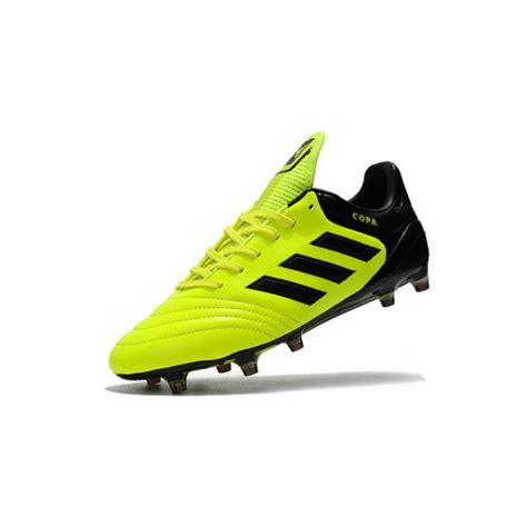 adidas copa  fg   football cleats yellow black
