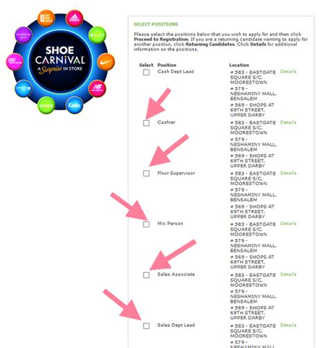 shoe carnival careers shoe carnival career guide shoe carnival application