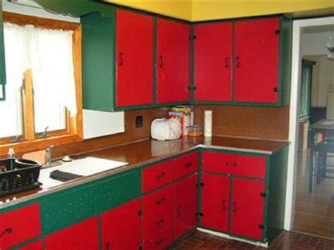 painting kitchen cabinets red 20 painted kitchen cabinets 2018 interior decorating