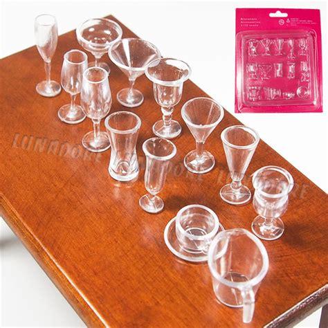 aliexpress kitchen accessories aliexpress com buy odoria 1 12 miniature 14pcs clear