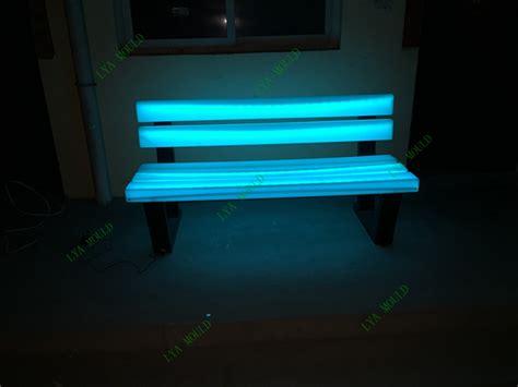 led bench led bench 28 images led bench event rental dazor 174