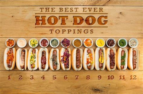 hot dog bar toppings list hot dog bar toppings list 28 images build your own hot