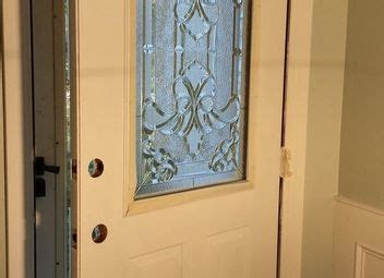 Make Your Own Front Door How To Make A Recessed Wainscoting Wall From Scratch Hometalk