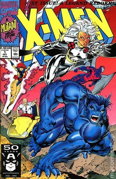 x vol 1 1991 1st series comic books