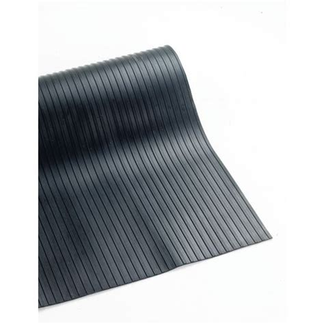10 mm ribbed rubber matting 3mm broad ribbed matting 900mm x 10m anti fatigue