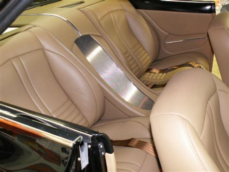 Interior Upholstery by 1966 Chevy Custom Leather Interior Interiors By Shannon Upholstery