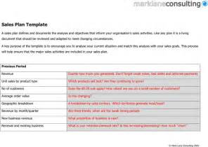 Sales Plan Template by The Sales Plan Template 1 Can Help You Make A Professional