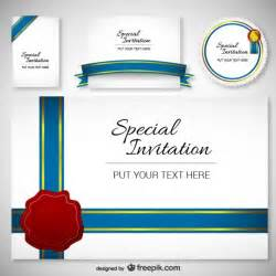 Invitation Card Design Template by Best Design Invitation Card Template Vector Free