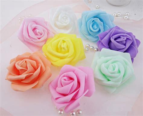 4 flores azules para jard compra artificiales rosas azules al por mayor de