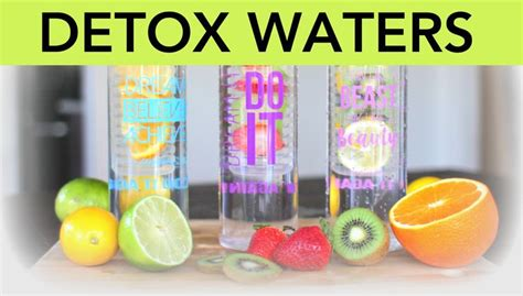 Detox The World Families by 3 Detox Water Recipes For Flushing Anti Aging And