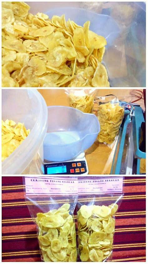 resep keripik ceriping pisang asin renyah gurih