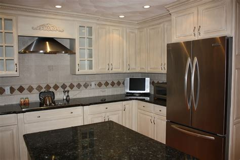 painted and glazed kitchen cabinets painted and glazed kitchen cabinet makeover traditional
