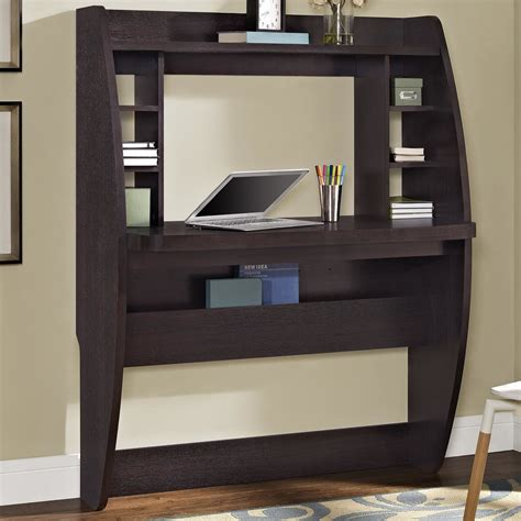 Wall Computer Desk Zipcode Design Wall Mounted Floating Desk Reviews Wayfair