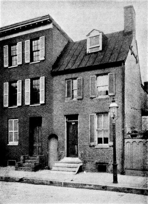 edgar allan poe house edgar allan poe society of baltimore articles e a p a critical biography a h