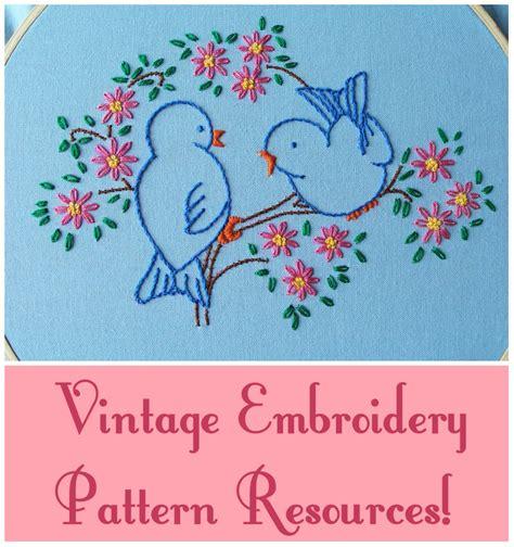 vintage embroidery pattern free eglantine stitchery vintage embroidery pattern resources