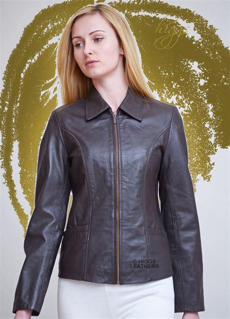 buy womens biker chocolate brown leather jacket ladies my jacket