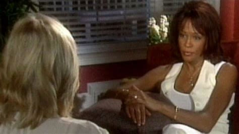 whitney houston and diane sawyer interview whitney houston to diane sawyer quot the biggest devil is me