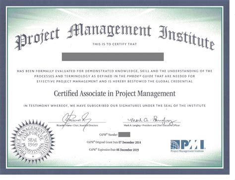 Project Management Certification Vs Mba certified associate in project management