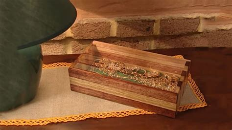 wooden jewelry box youtube