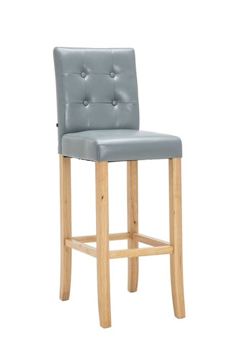 Bar Stools Leather And Wood by Bar Stool Burda Wood Leather Breakfast Kitchen Barstools