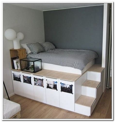 beds with storage ideas in platform bed with storage blogbeen