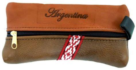 cuero argentina cartuchera cuero argentina zorzal criollo ropa con su