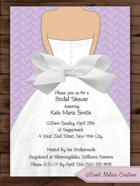 bridal shower invitations to make at home bridal shower invitation lace bow design colors diy print at home sweet