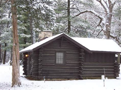 White Pines Cabins Il by Individual Cabins Picture Of White Pines Forest