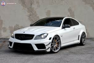 Mercedes With Rims Mercedes Tuning Wheels Boutique Hre Tweaked C63 Amg Black