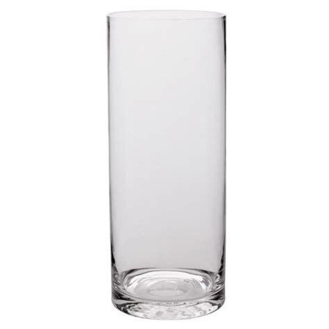 The Range Vases by Buy Tesco Glass Cylinder Vase 50cm From Our Vases Bowls