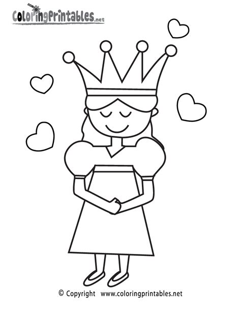 Free Printable Princess Coloring Page Princess Color Sheets Free Coloring Sheets