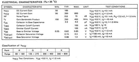datasheet transistor c945 c945 データシート nec c945 pdf datasheetbank