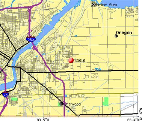 map of oregon ohio 43616 zip code oregon ohio profile homes apartments