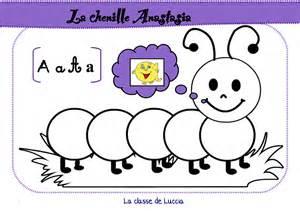La Chenille Des Voyelles La Classe De Luccia