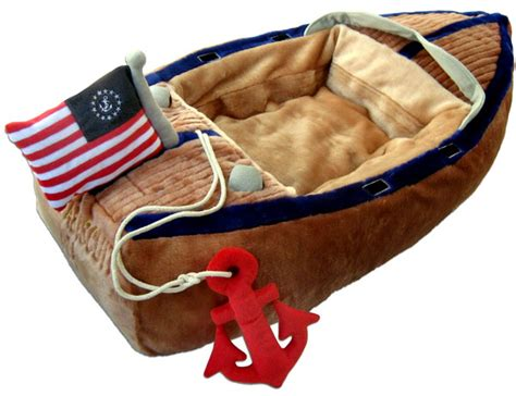 toy boat anchor boat bed with anchor toy by haute diggity dog petfavors