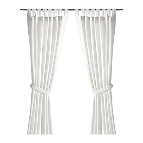 ikea curtain tie backs lenda curtains with tie backs 1 pair ikea