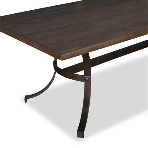 Rectangular Dining Tables Idaho Wrought Iron Rectangular Dining Table