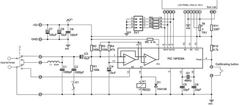 inductance meter schematic inductance meter schematic 28 images meter pic16f84a based embedded engineering accurate lc