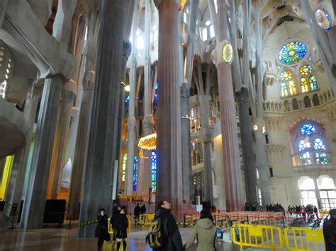 Interior Sagrada Familia by Viagens Xl Viagem A Barcelona Dia 2