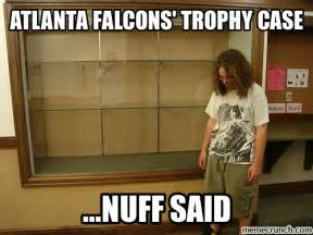atlanta falcons trophy case