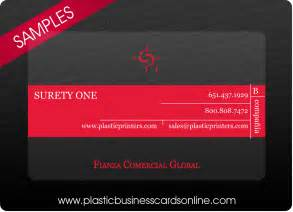free business card design plastic business cards sles exles and design ideas
