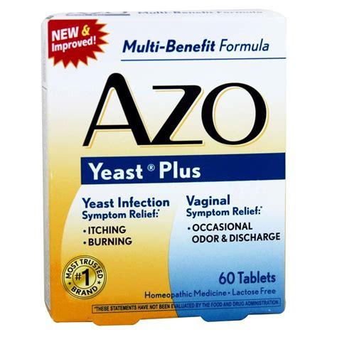 Azo Detox by Azo Yeast Plus 60 Tablets Evitamins
