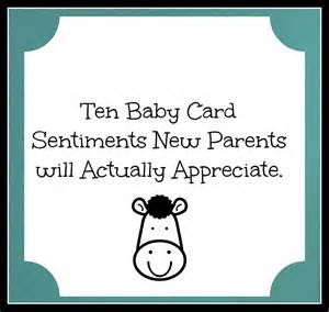 Baby Shower Wishes Quotes by Baby Card Sentiments Someone A Baby Try These