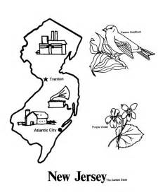 in color nj usa printables state outline shape and demographic map