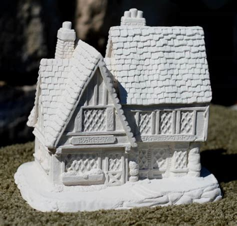 plaster house creative crafts plaster houses